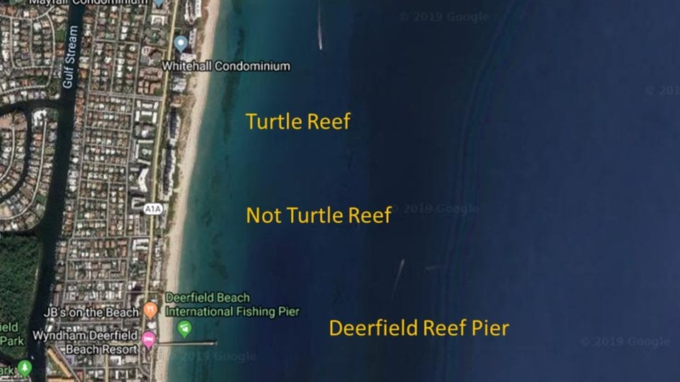 Deerfield Beach dive sites