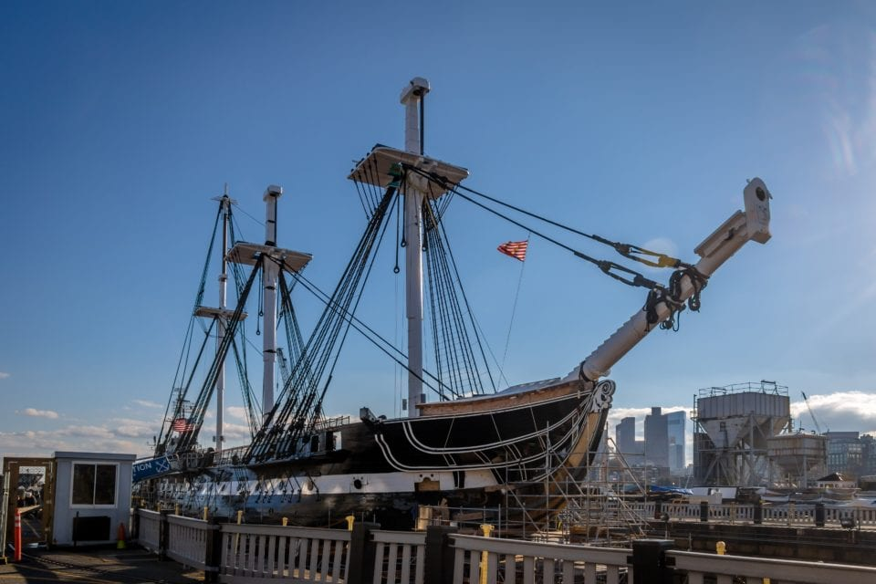 USS Constitution Boston via Canva