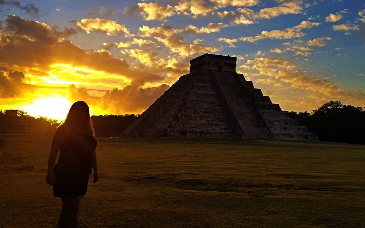 Sunrise-in-Chichen-Itza