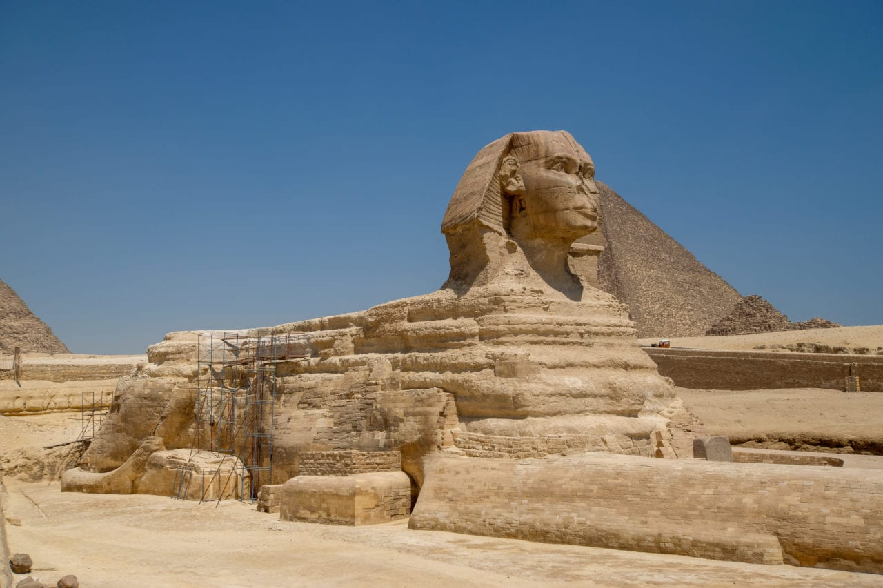 Great Pyramid complex and Sphinx