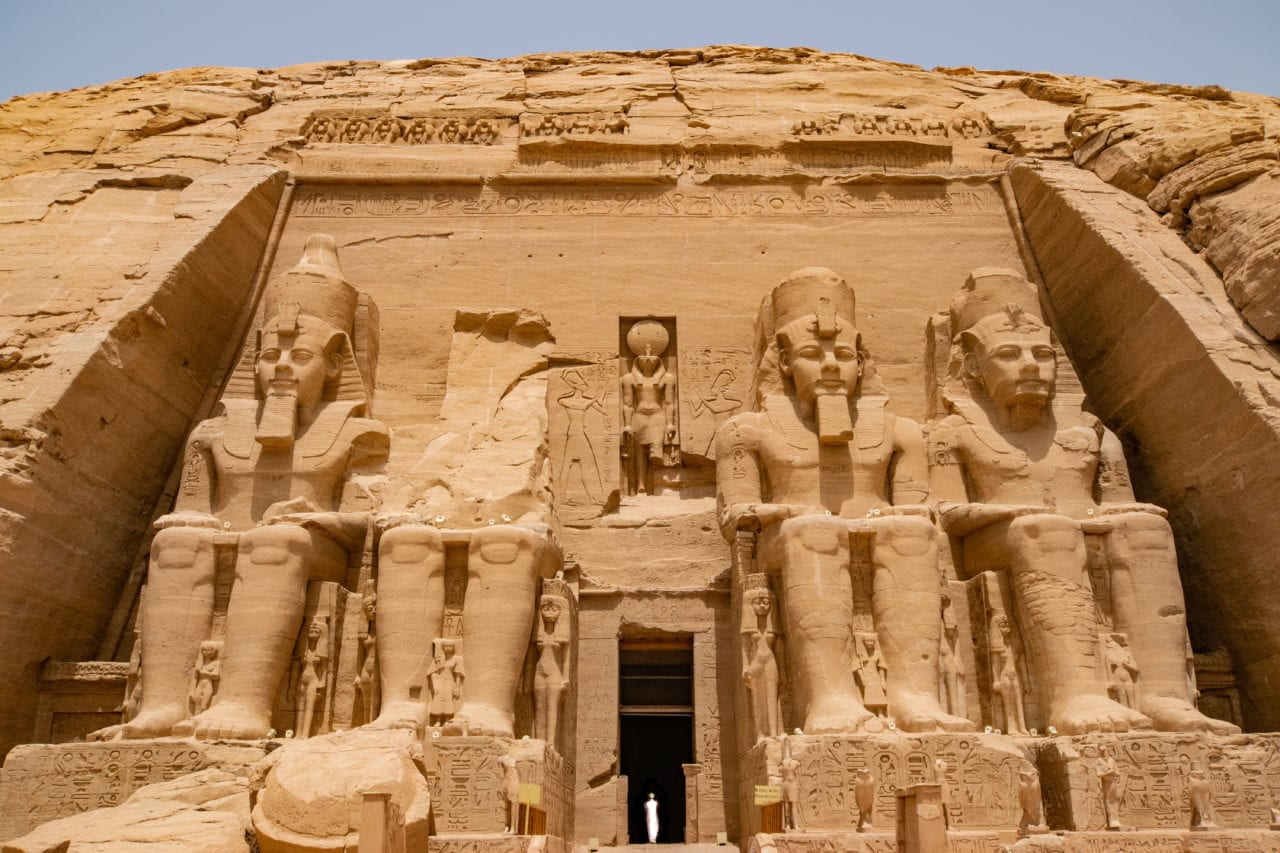 Entrance to Abu Simbel