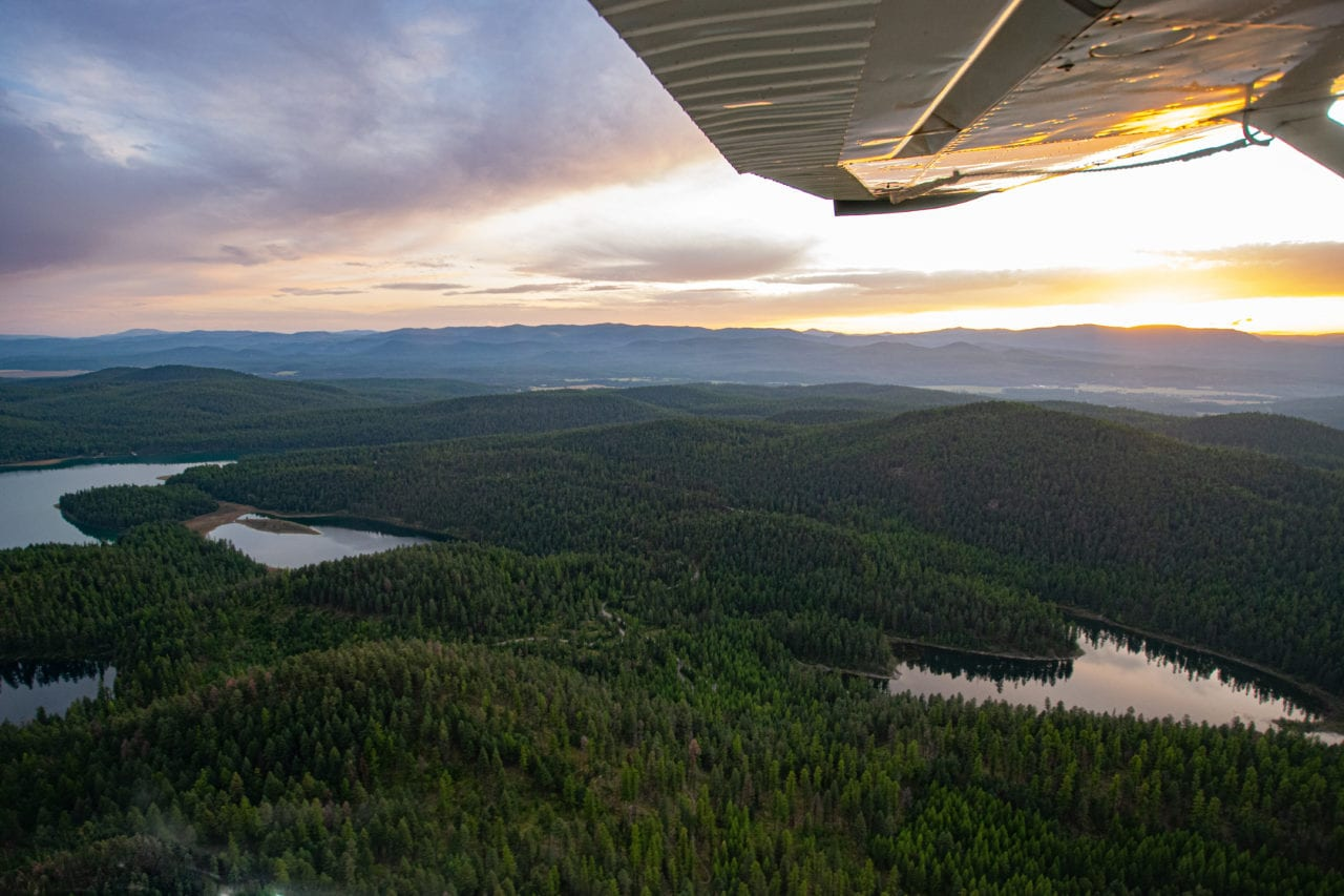 View from Backcountry Flying Experience float plane