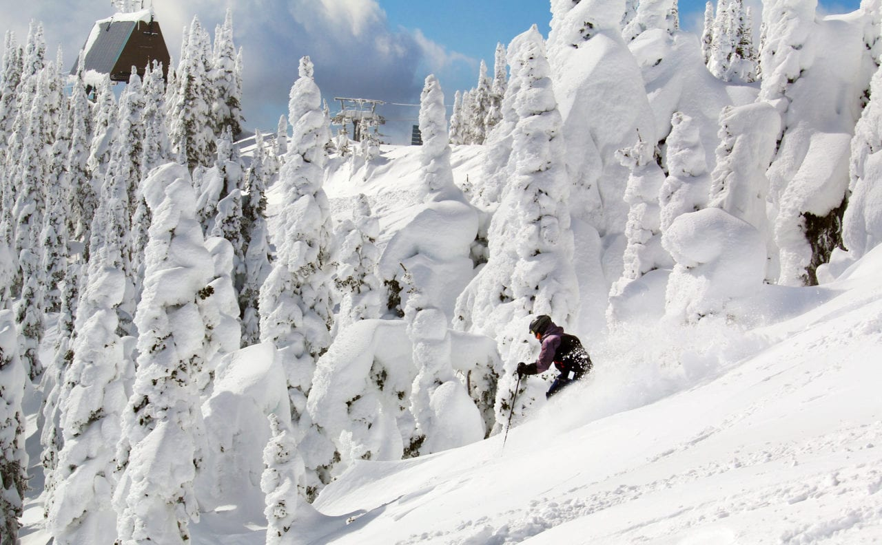 Snowghosts on Whitefish Mountain Resort photo by Brian Schott/Explore Whitefish