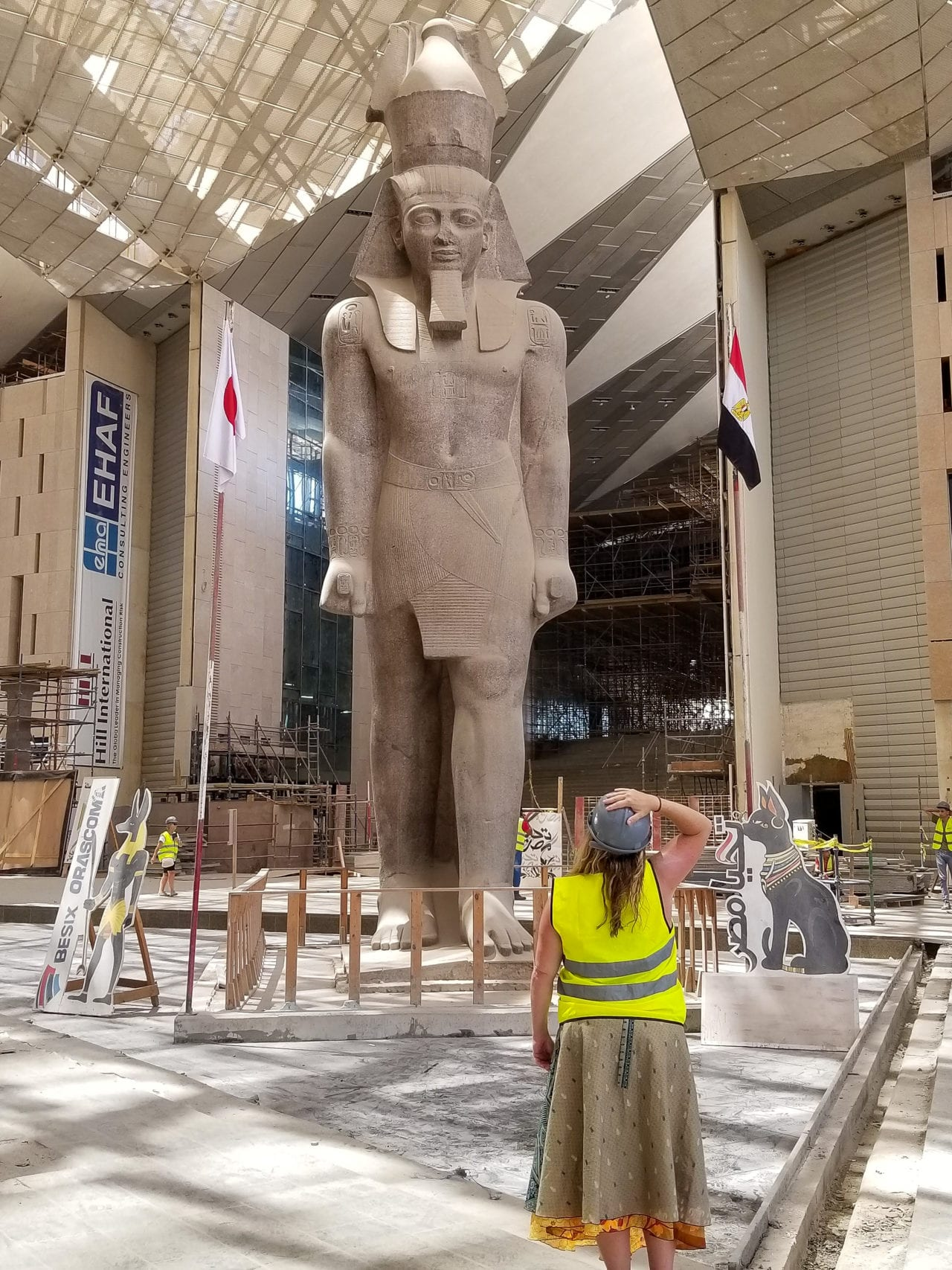 inside the Grand Egyptian Museum