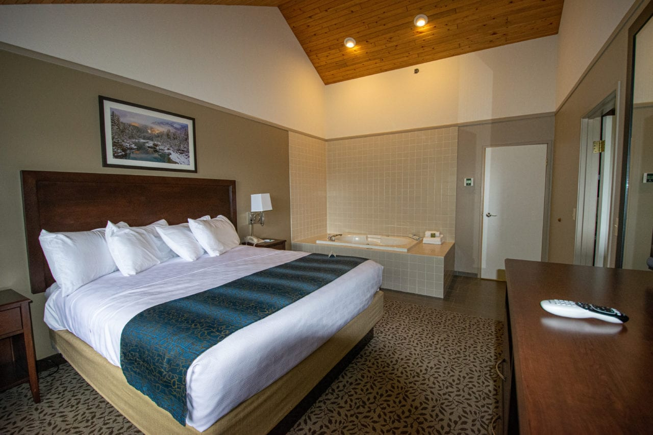 Rooms in Pine Lodge, Whitefish Montana