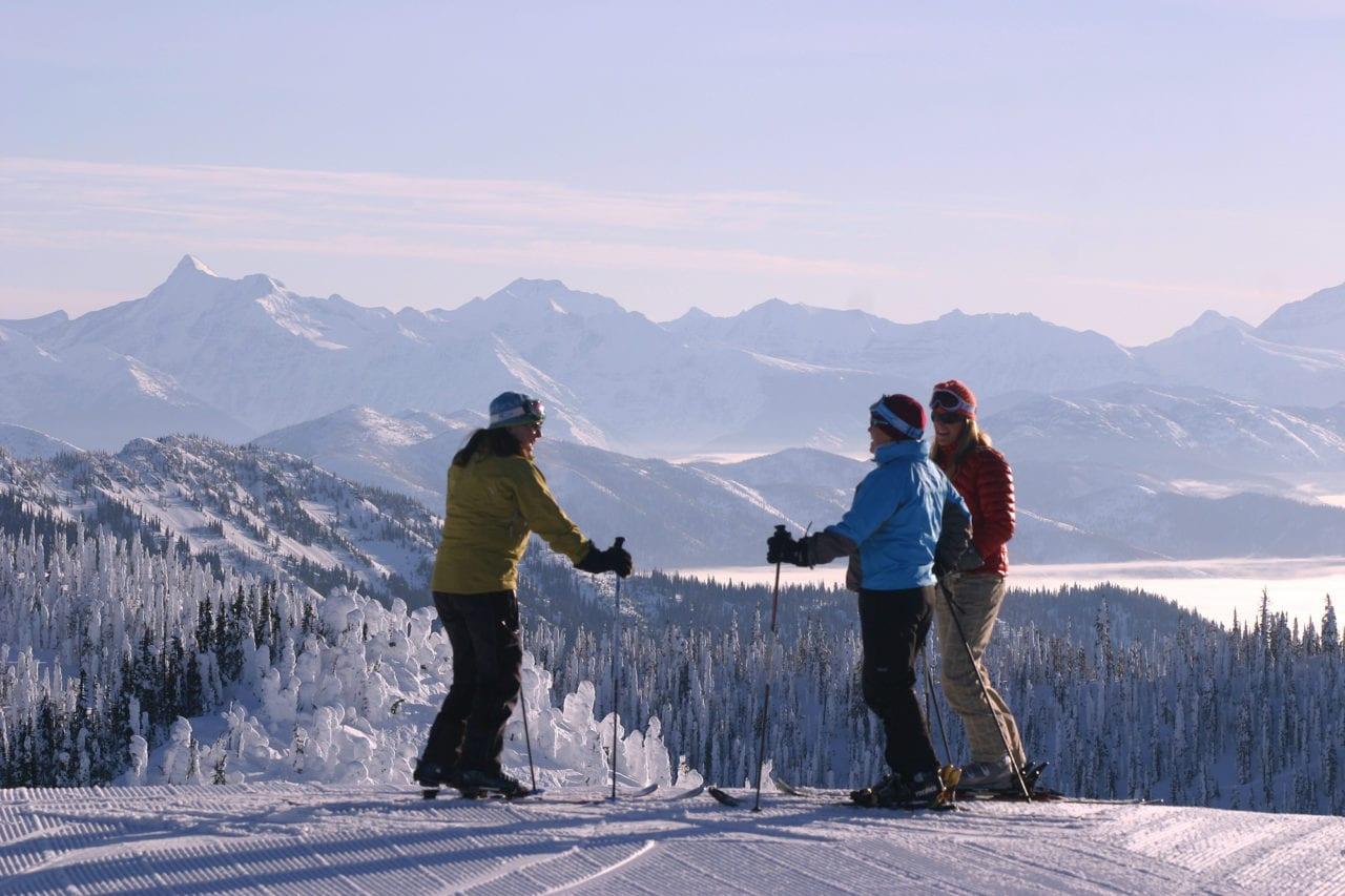 Summit Whitefish Mountain Ski Resort photo by Brian Schott/Explore Whitefish