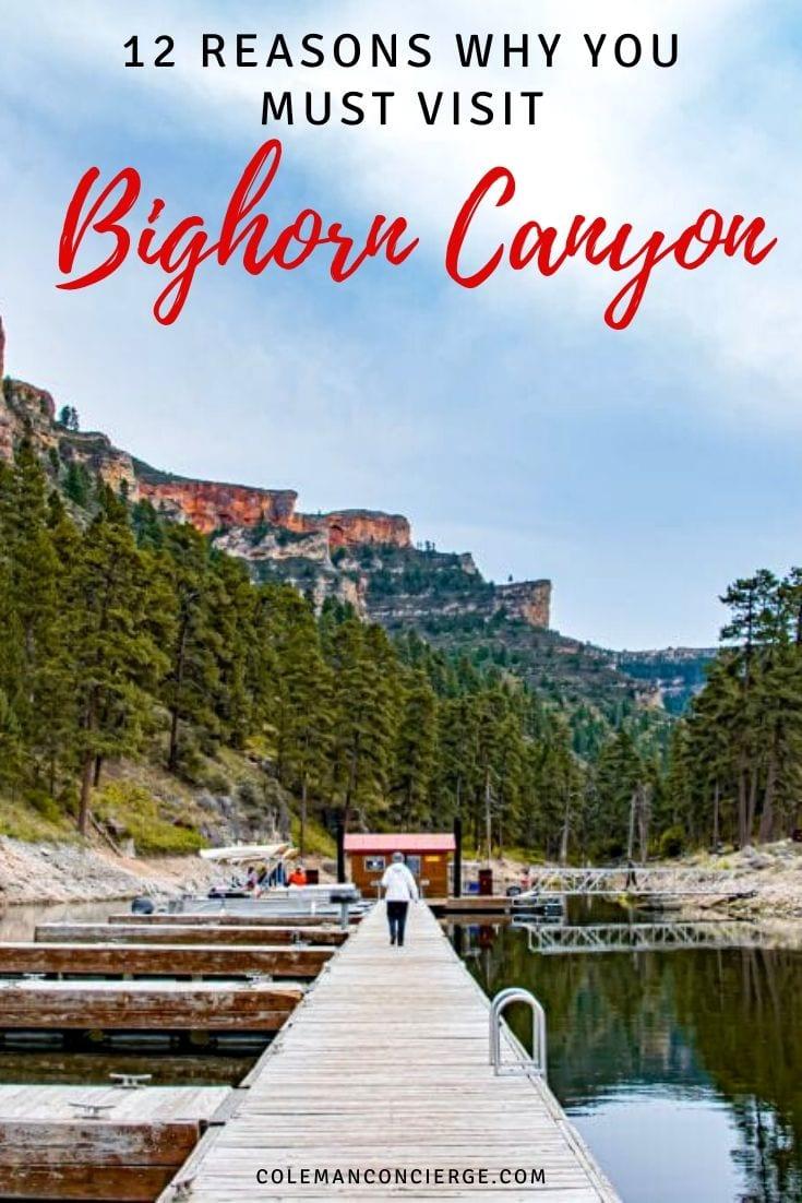 Bighorn Canyon Dock
