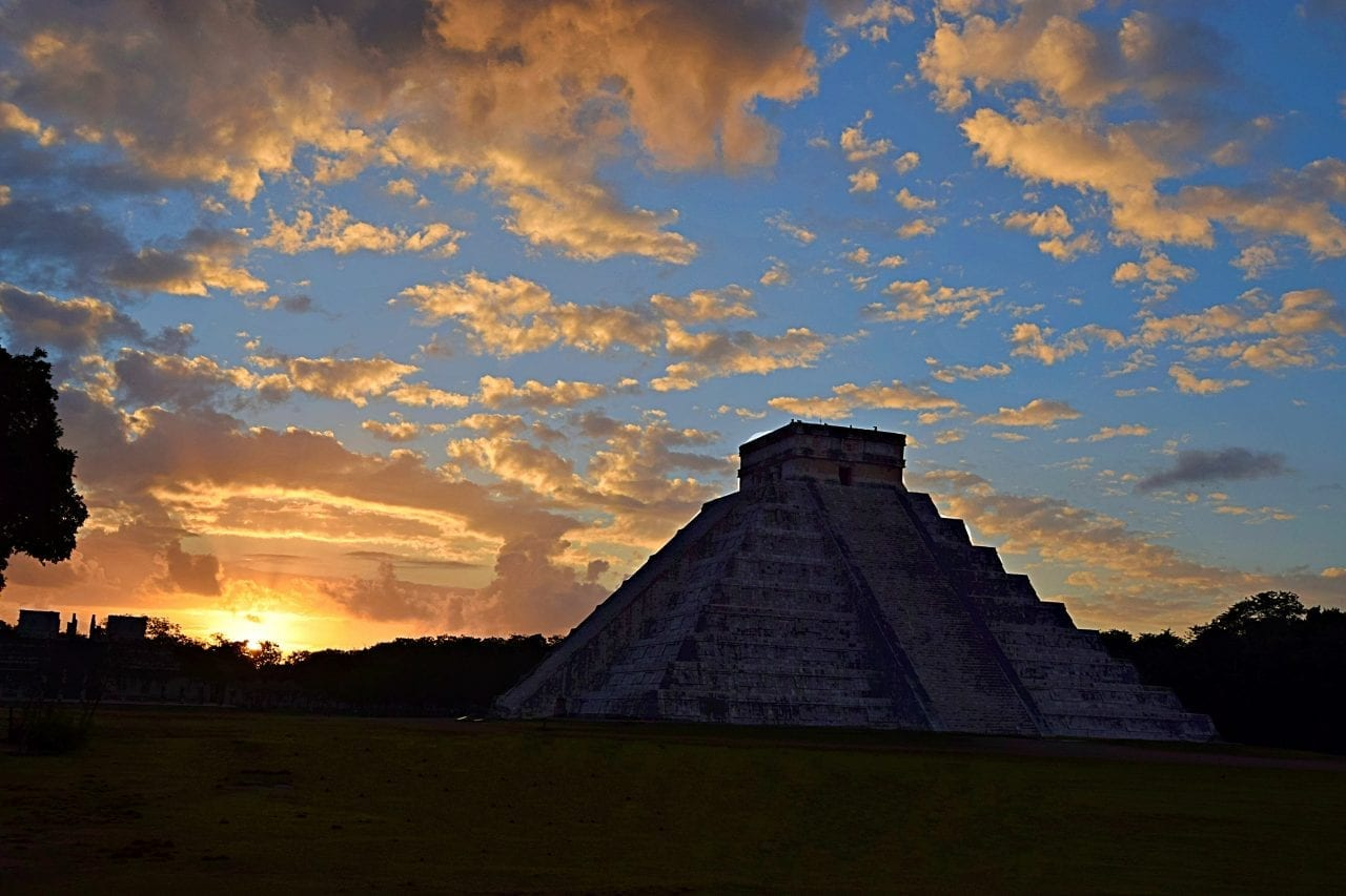 El Castillo at Sunrise