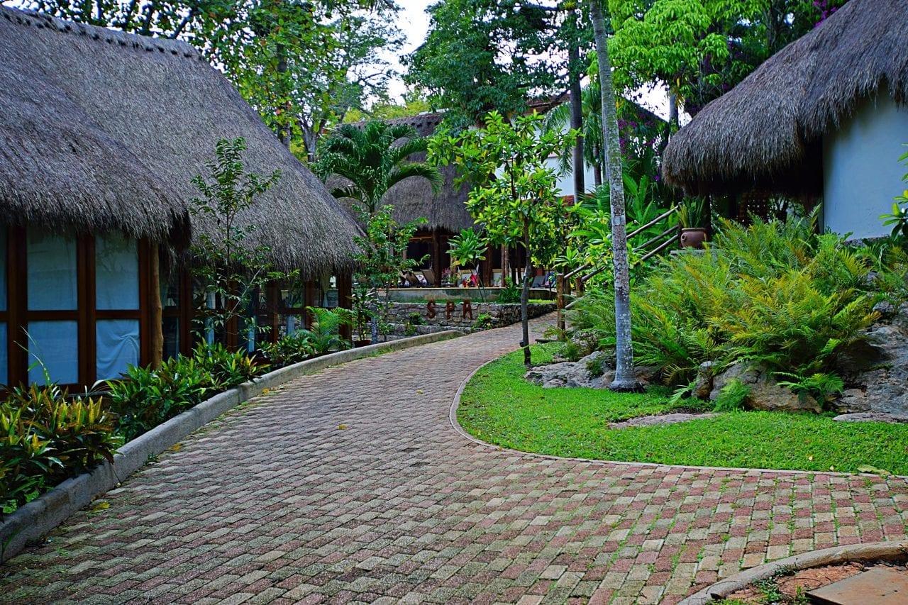 Mayaland Hotel near Chichen Itza