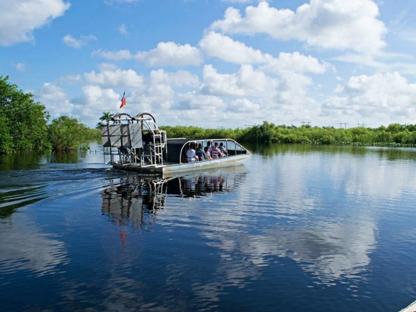 Airboat Tour in the Everglades
