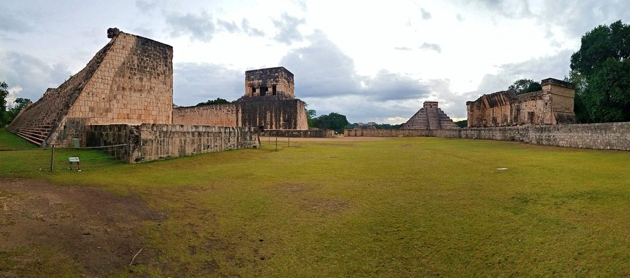 Chichen Itza ball field