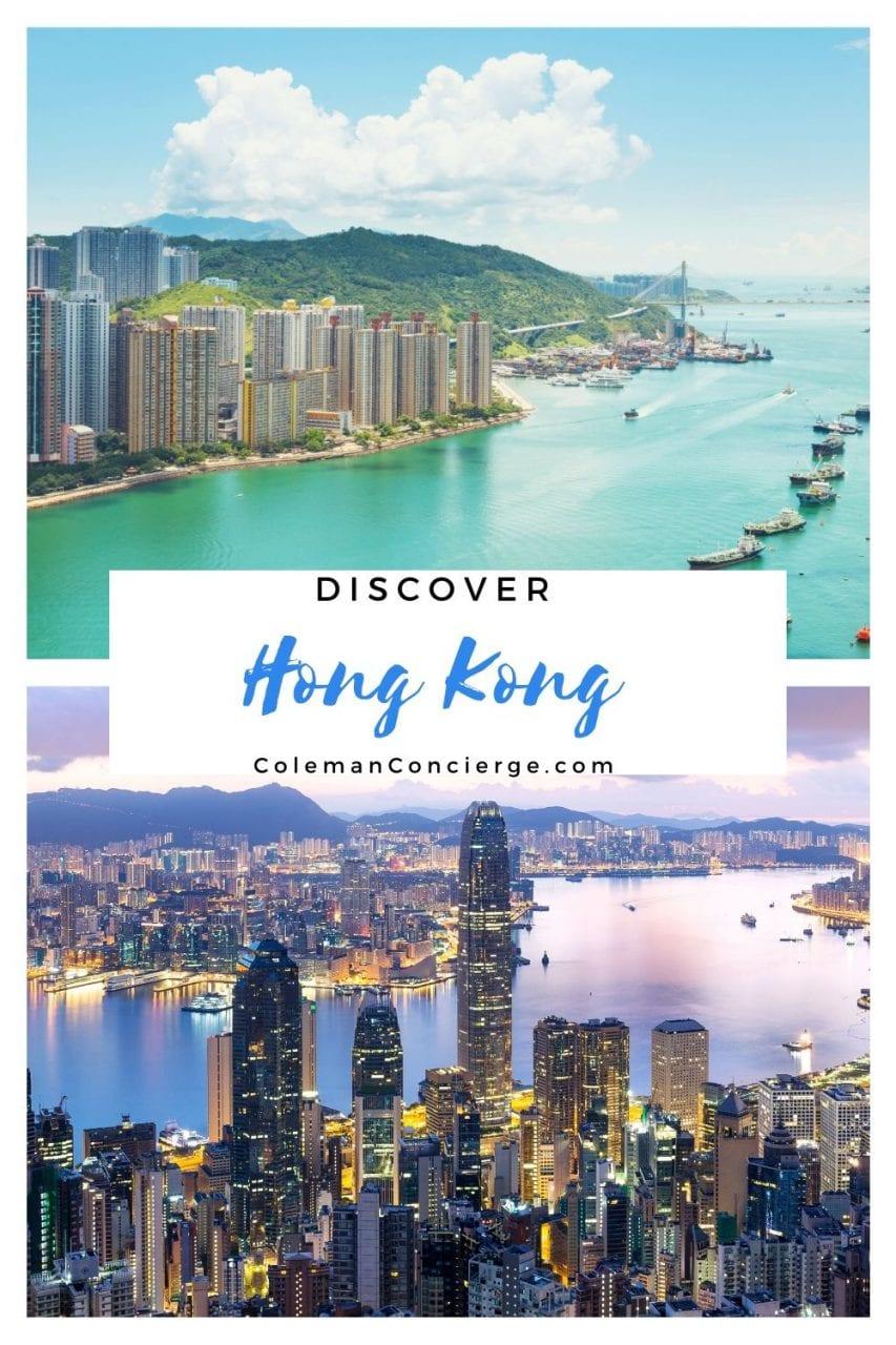 Hong Kong by day and night