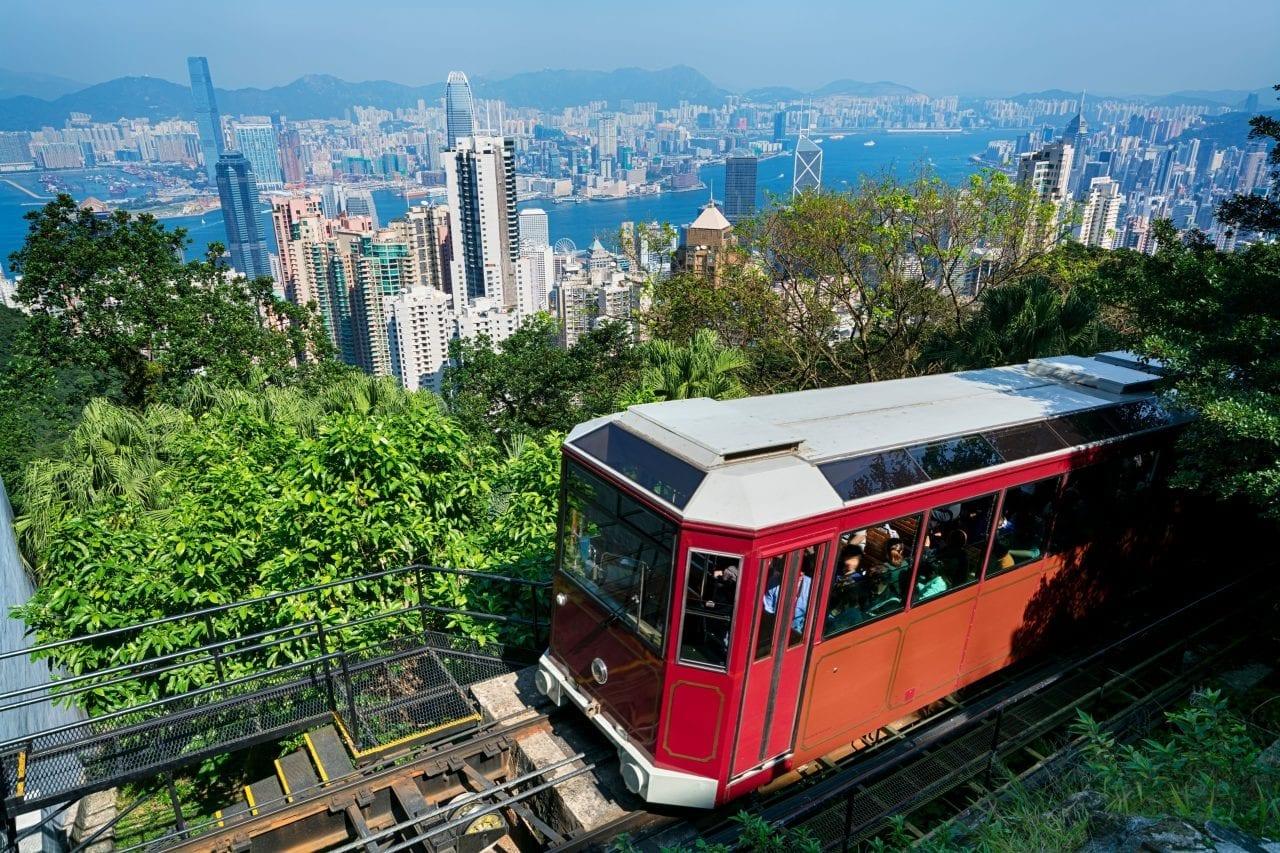 Hong Kong tram via Canva-4