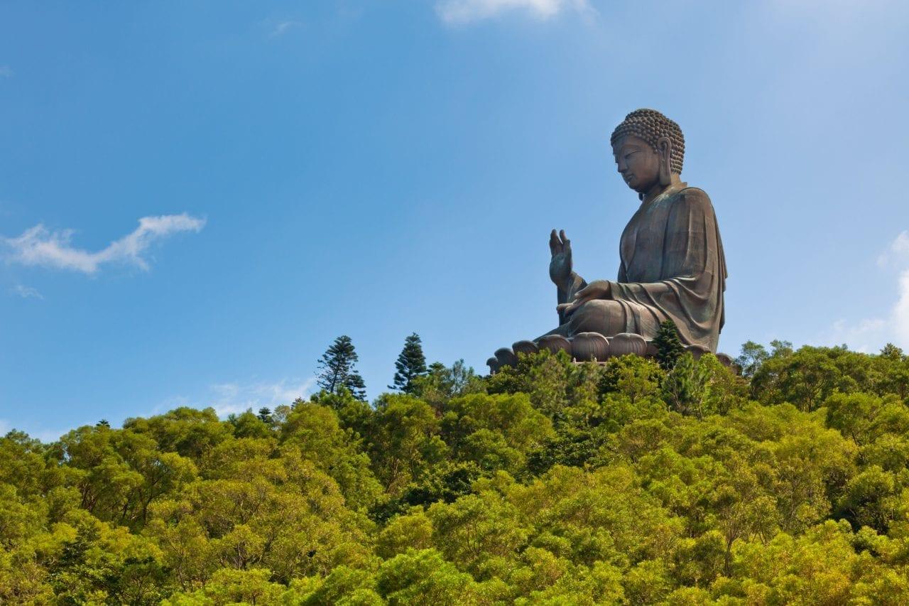 Tian Tan Buddha on Lantau Island via Canva