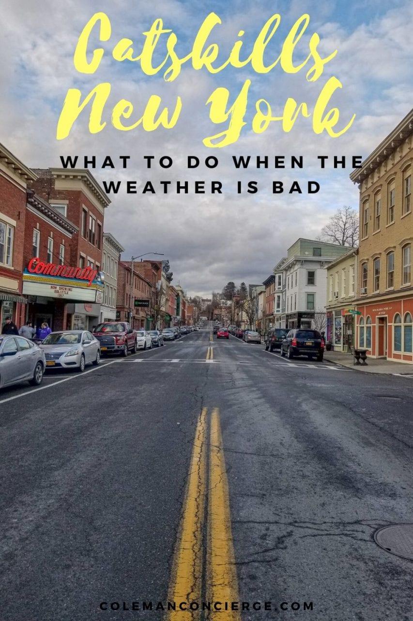 Downtown Catskills