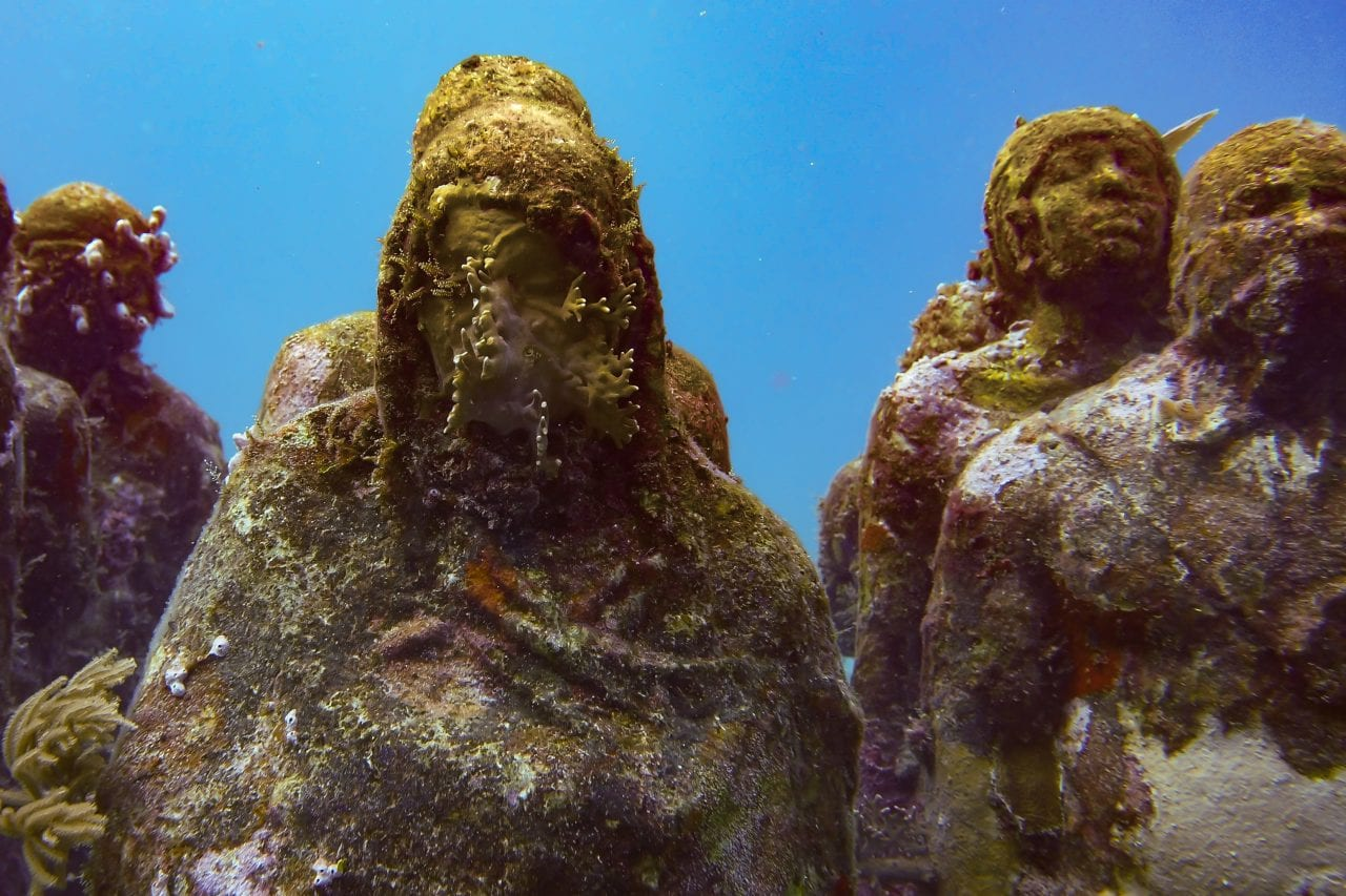 Scuba Diving Cancun Underwater Museum