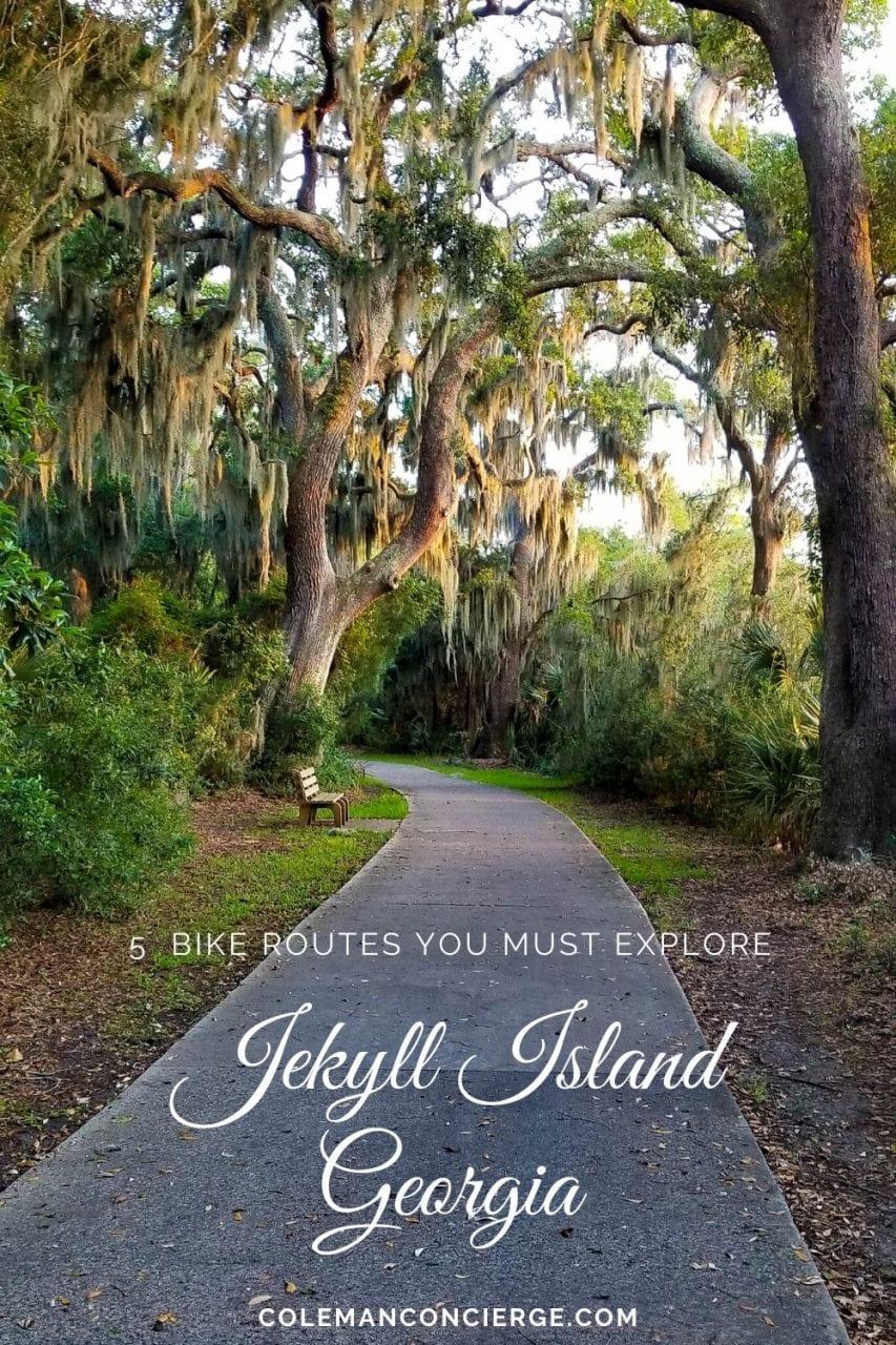 Jekyll Island Bike Trails