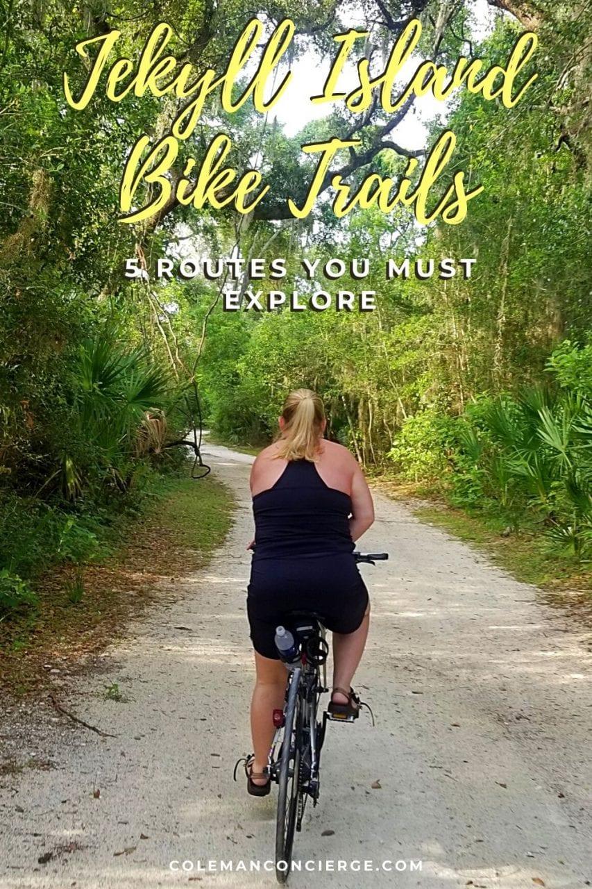 Biking Jekyll Island Georgia