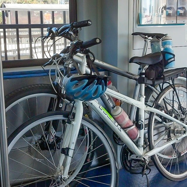 Bikes on the San Diego Train