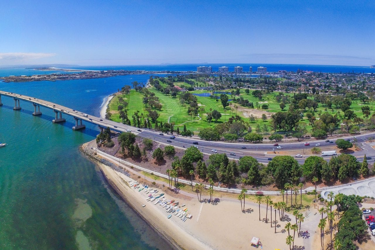 Coronado Bike Trail via Canva