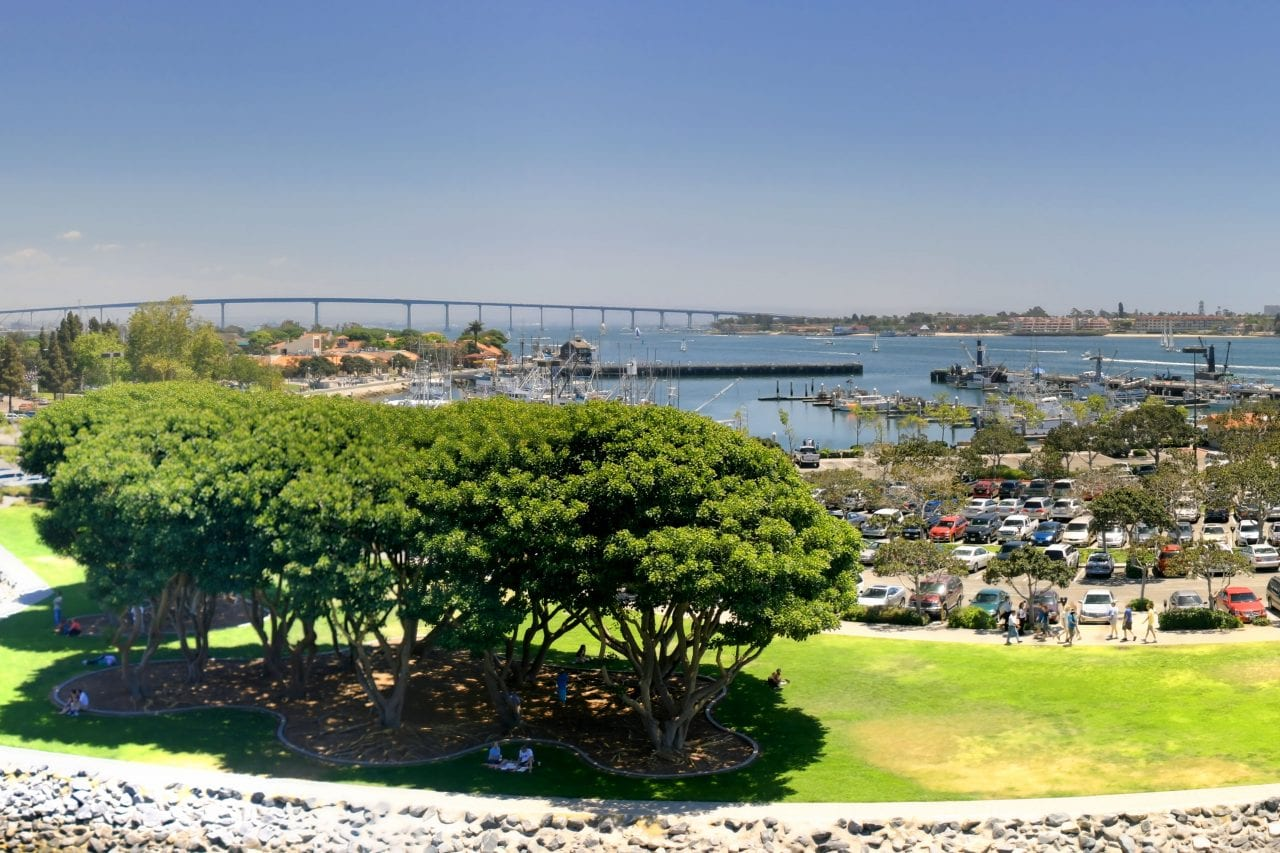 Coronado Bridge via Canva