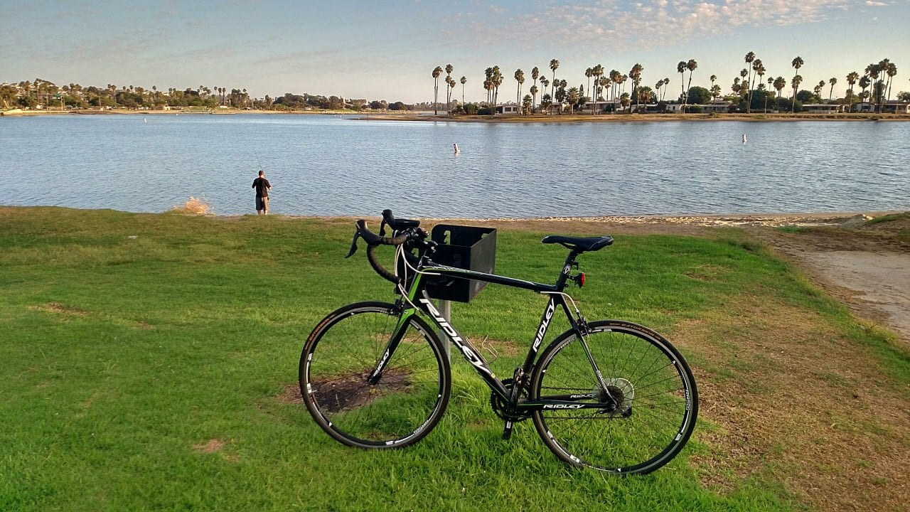 Bike in De Anza Cove