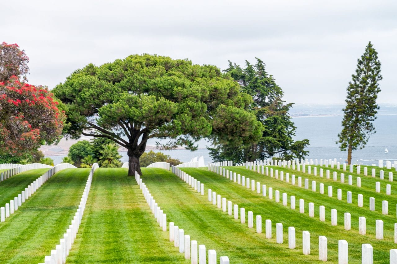 Ft Rosecrans Cemetery via Canva