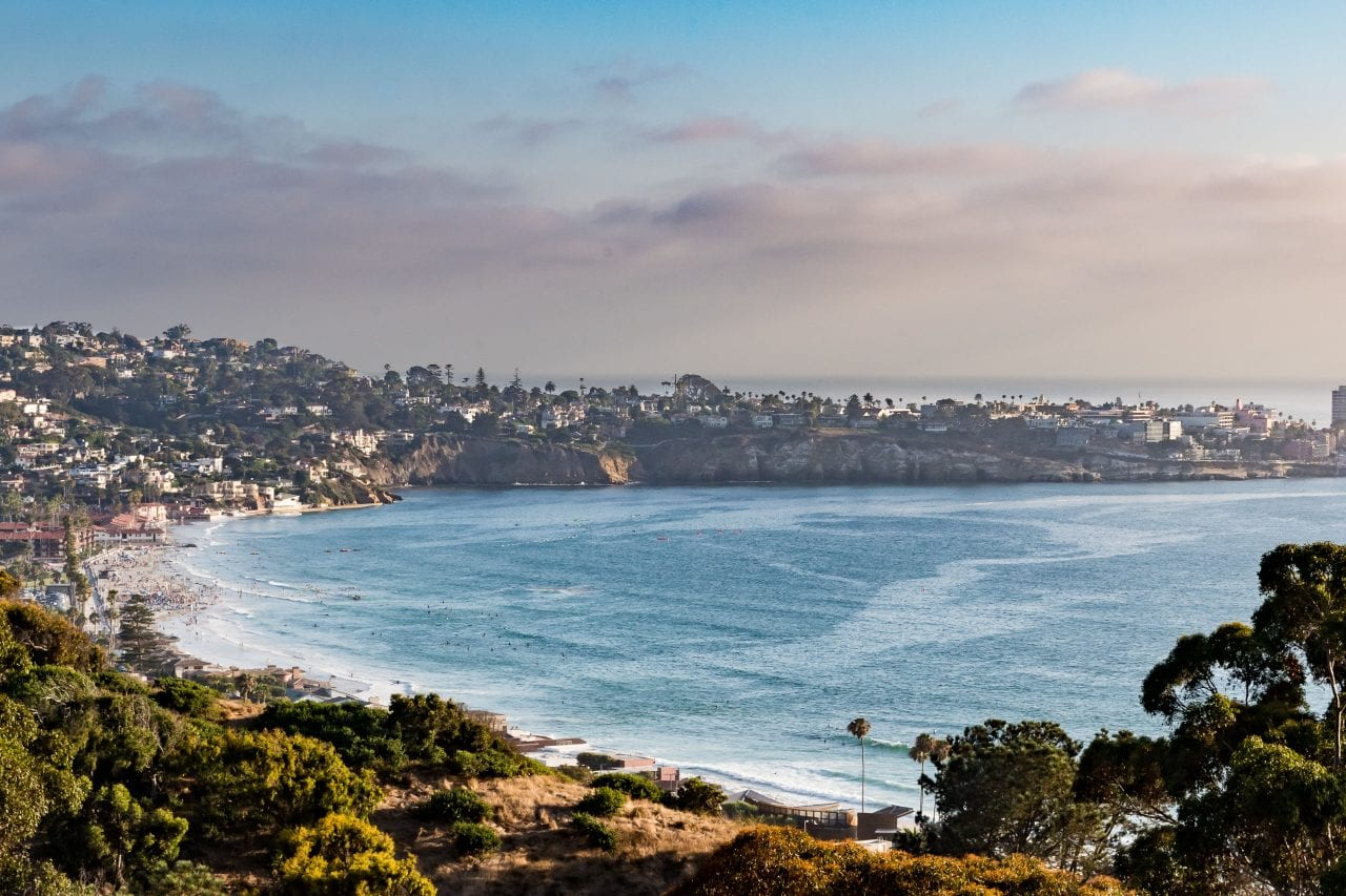 La Jolla Shores switchback via Canva