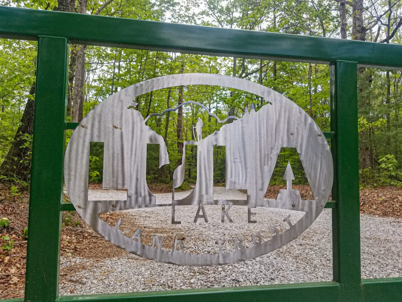 Lula Lakes gate