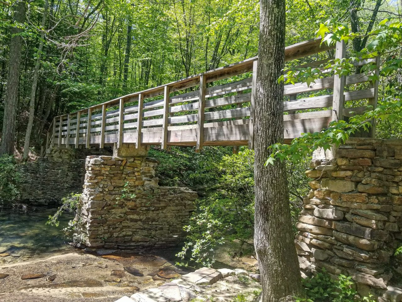 Bridge on the Lula Lake Trails