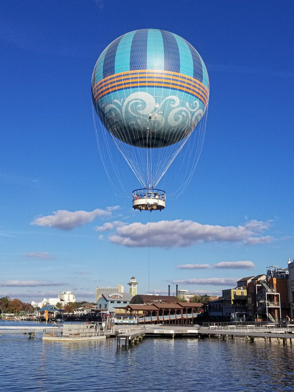 Balloon rides at Disney Springs