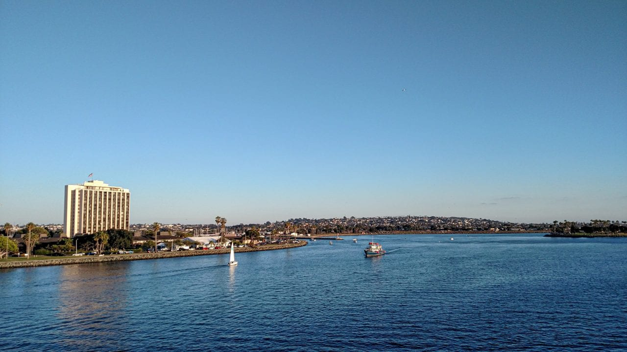 View from Mission Bay Bridge