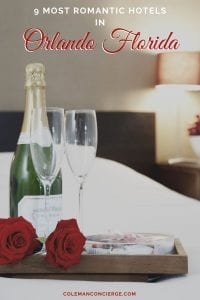 Romantic champagne on bed
