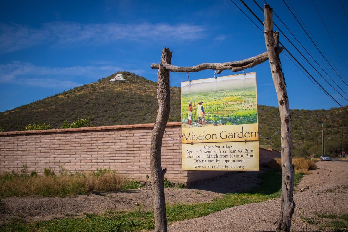 Mission Garden - photo via Visit Tucson