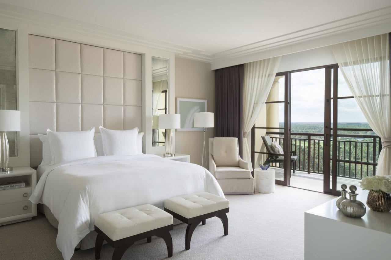 The rooms at the Four Season wrap you in lavish luxury
