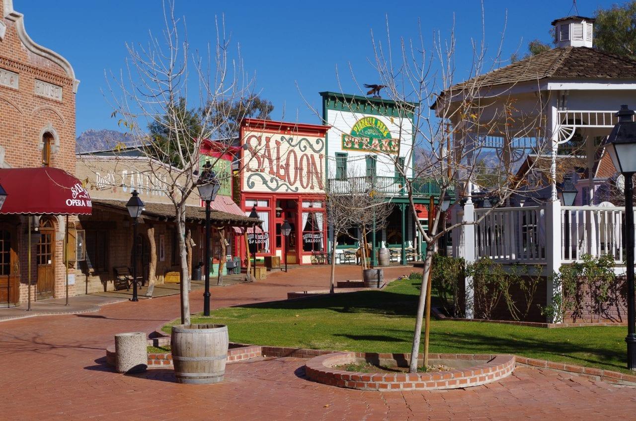 Trail Dust Town Courtyard via Visit Tucson