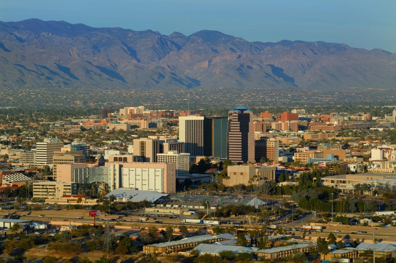 Tucson Skyline - photo via Visit Tucson
