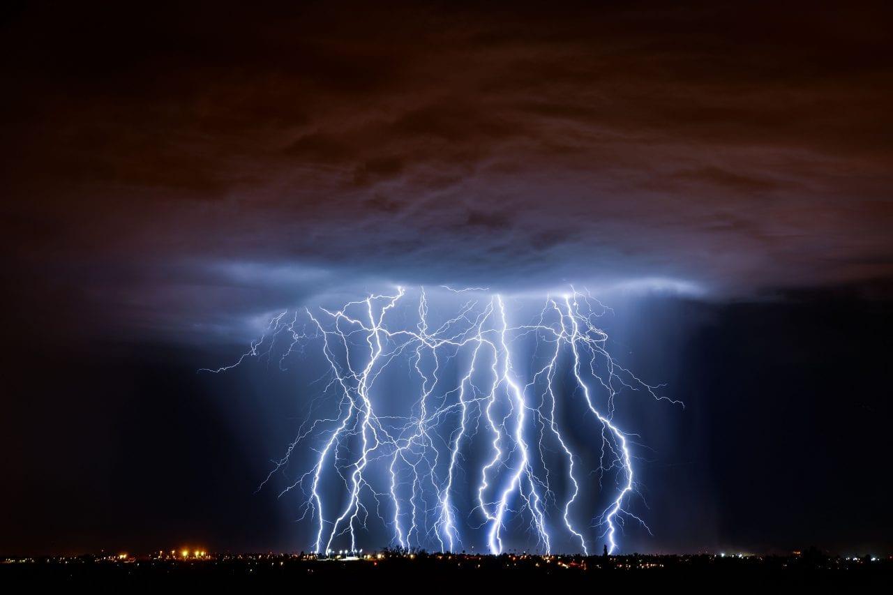 Tucson storm via Canva