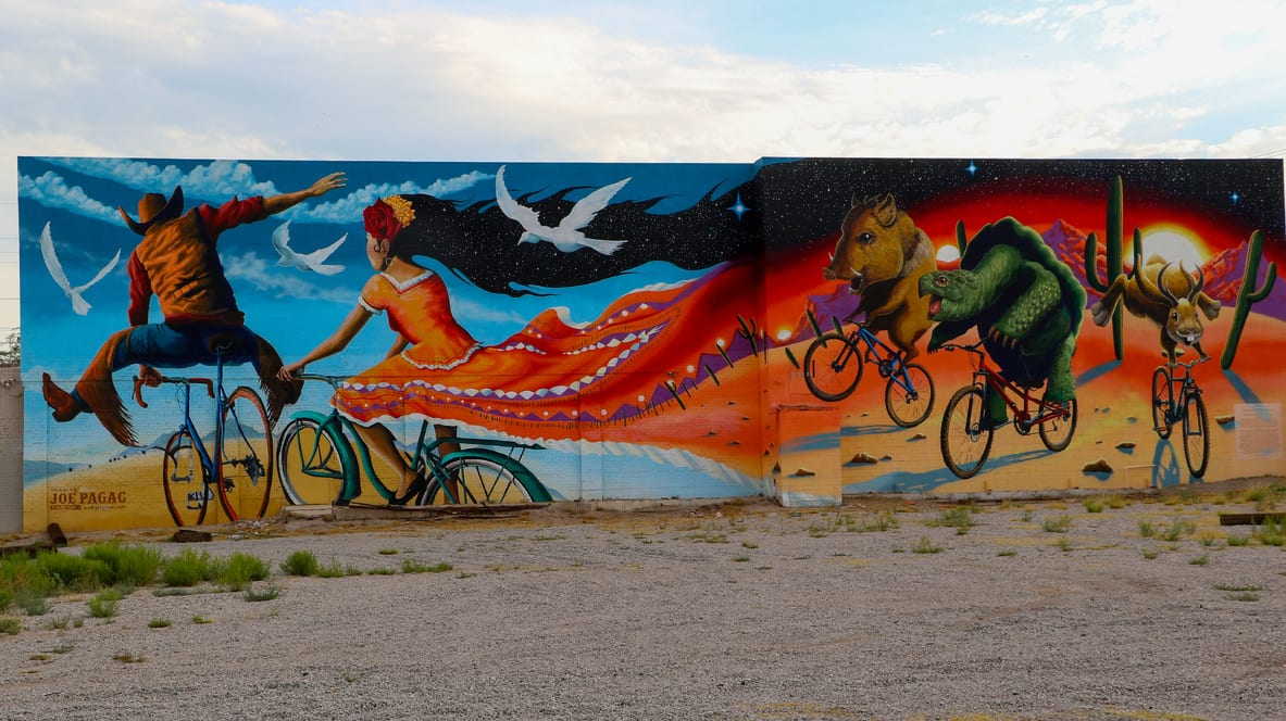 Tucson Bikes - Photo by Rusty Boulet-Stephenson