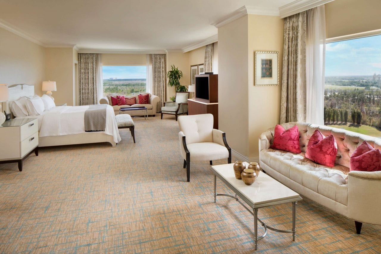 The Presidential Suite at the Waldorf Astoria