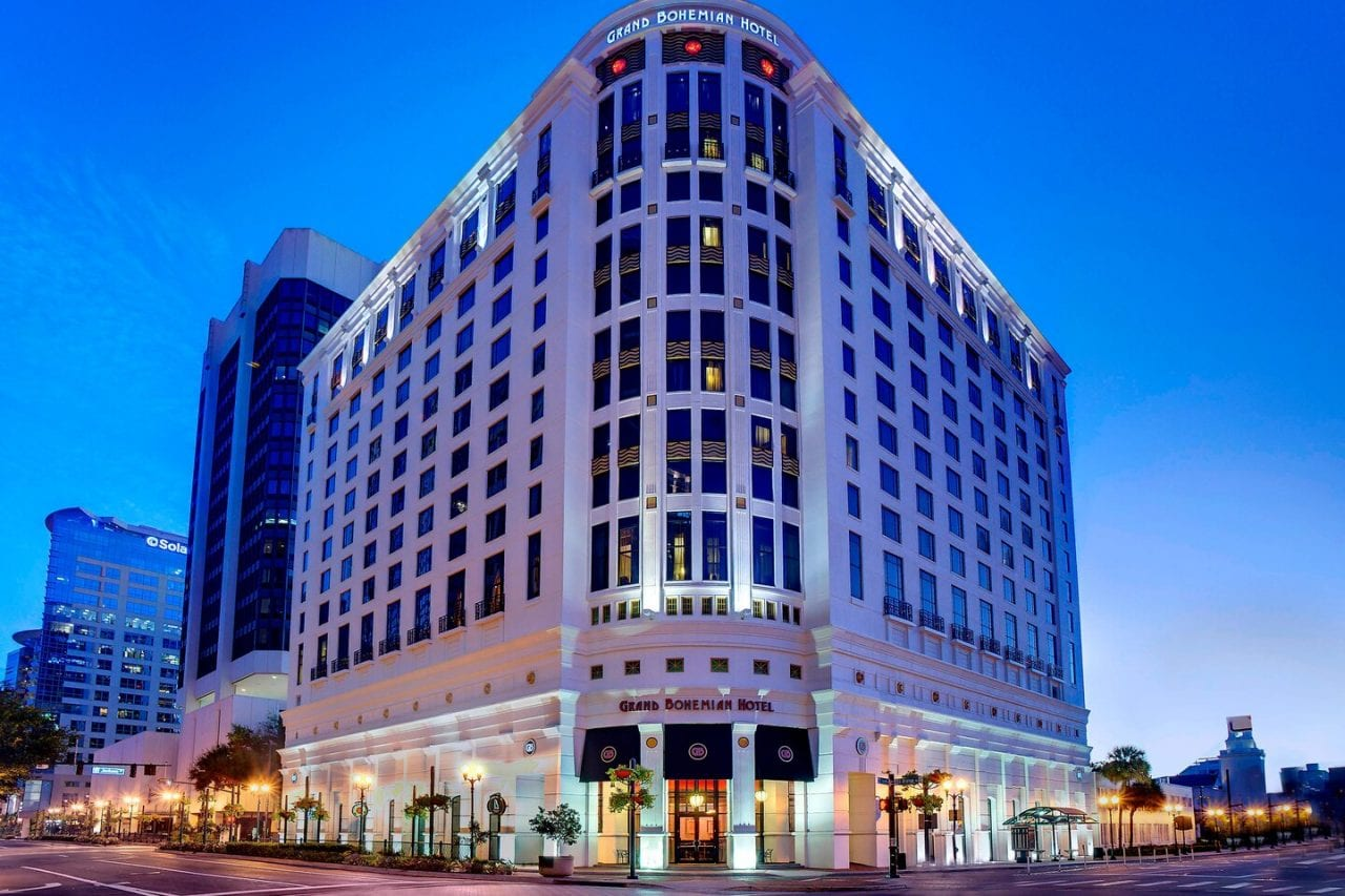The Grand Bohemian, a romantic hotel in downtown Orlando