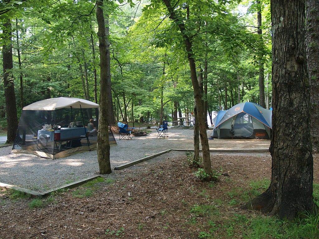 Cades_Cove_Camping_Site via WikiMedia