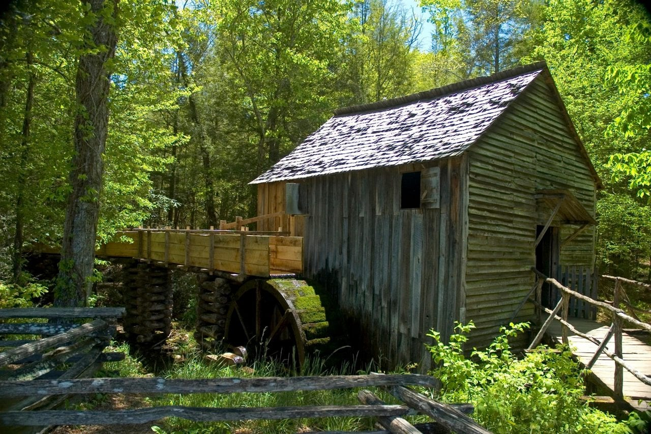 John Cable grist mill via Canva