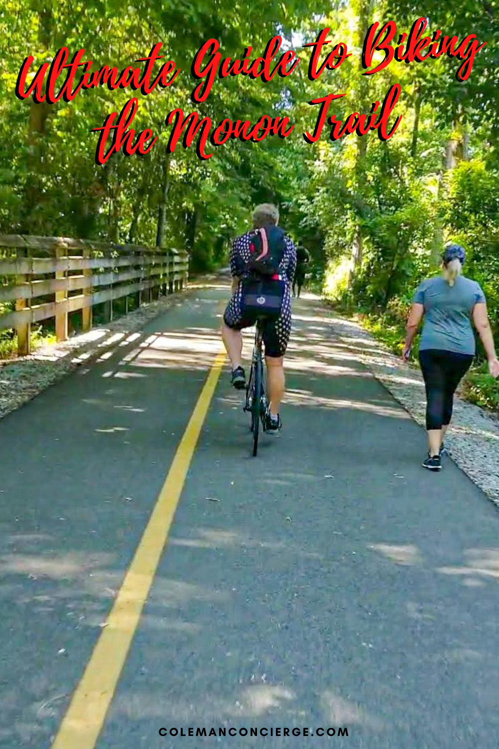Biking on the Monon Trail