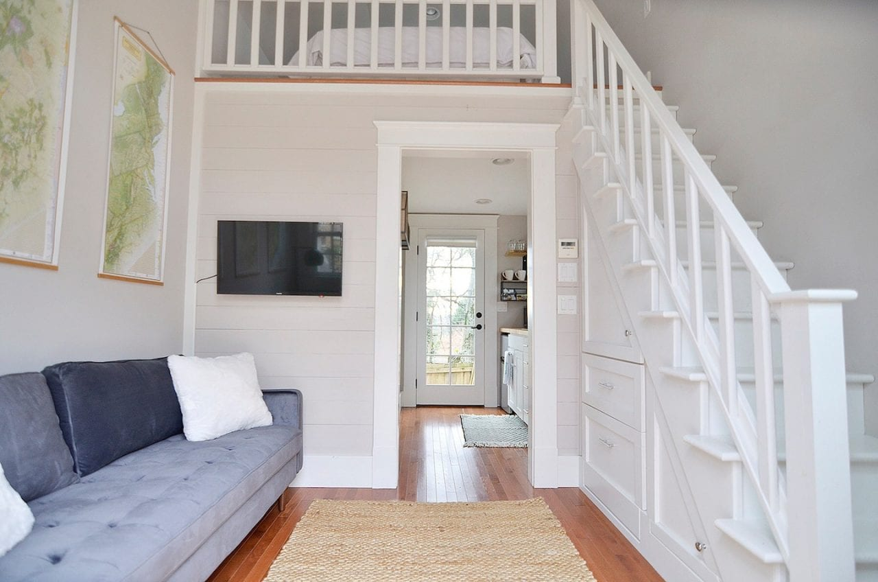 North Chattanooga Tiny House Interior