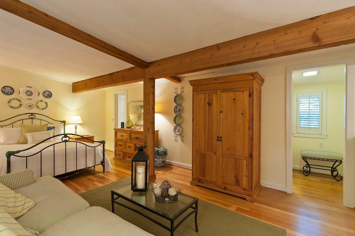 The Mockingbird Cottage interior