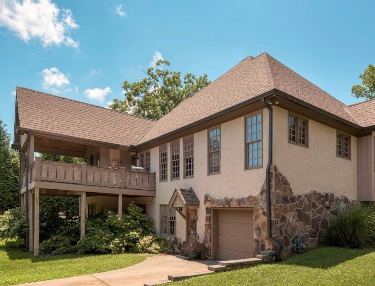 Elegant 1200 sf apt in City of Lookout Mountain TN exterior