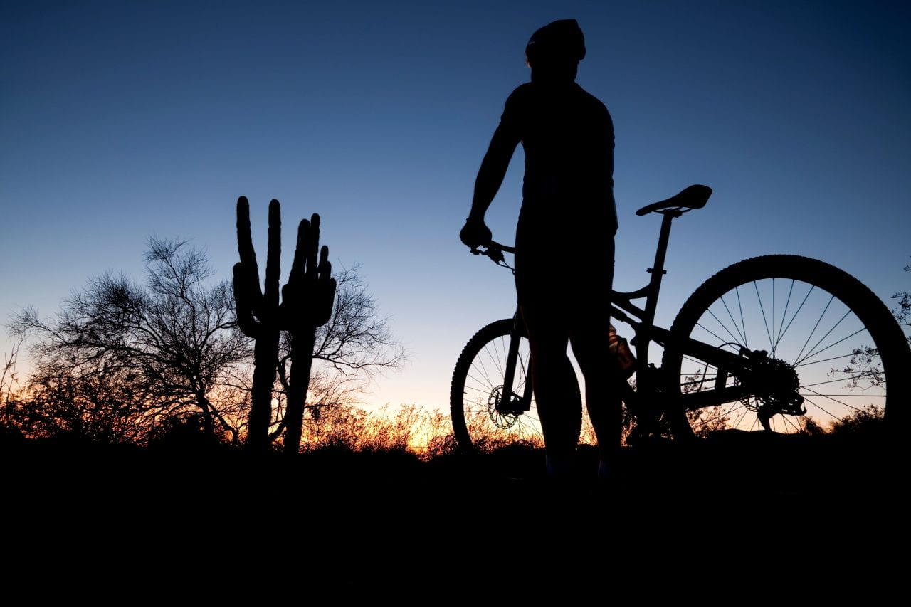 Tucson Mountain biking