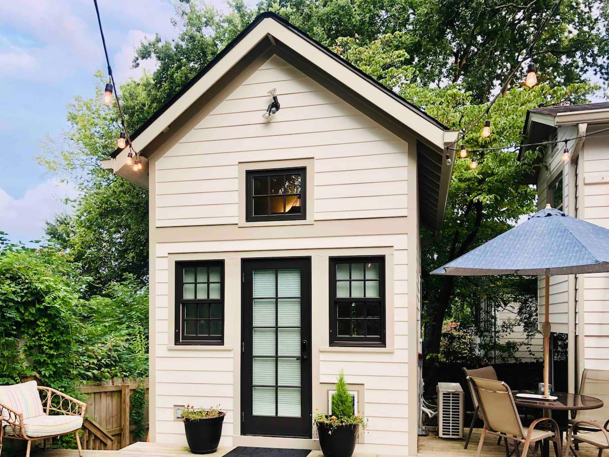North Chattanooga Tiny House Exterior