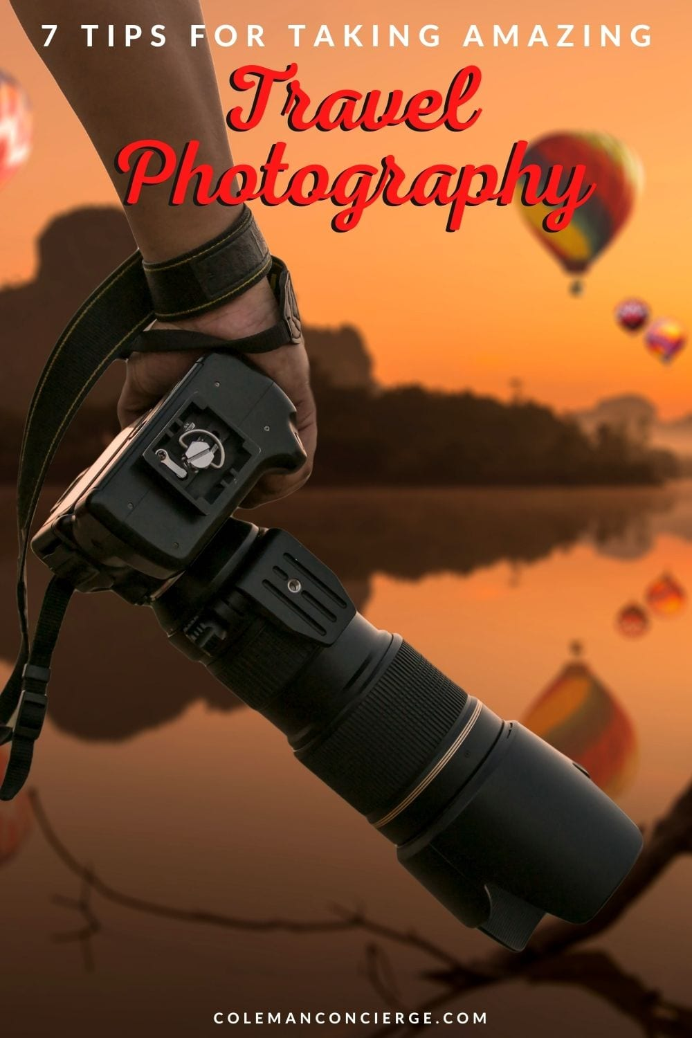 Camera and for air balloons